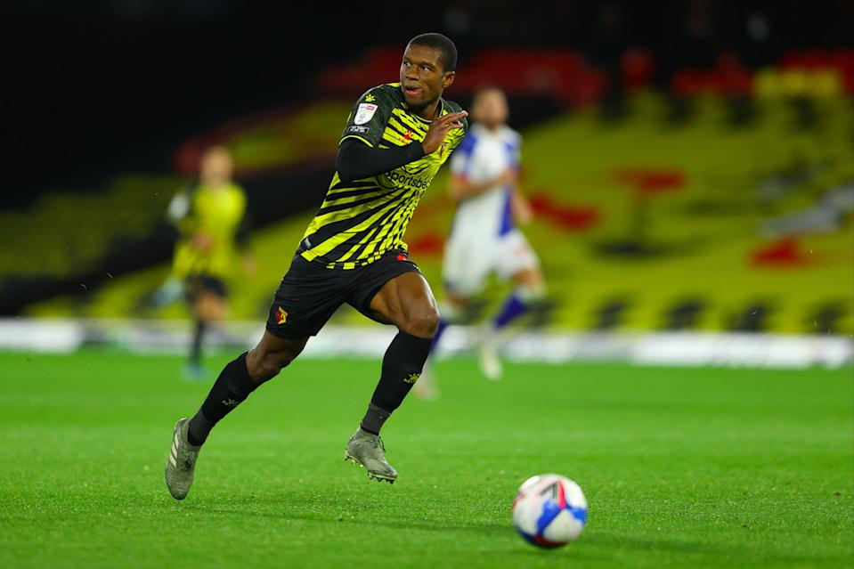 <p>Christian Kabasele has played for Watford since 2016</p> (Getty Images)
