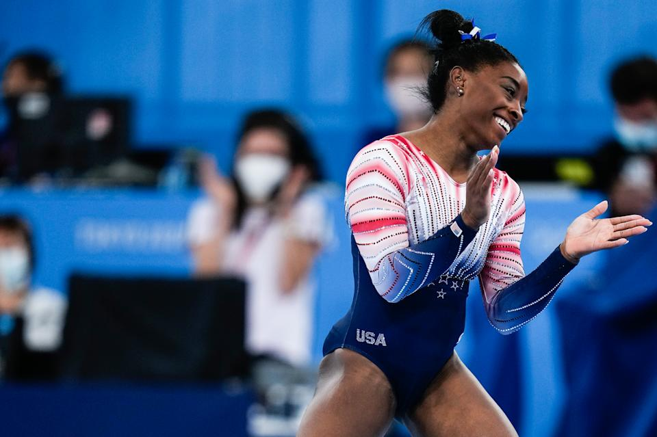 Simone Biles received backlash for her decision to withdraw from much of the Olympic gymnastics events in Tokyo, though little of it made much sense. (Photo by Wei Zheng/CHINASPORTS/VCG via Getty Images)