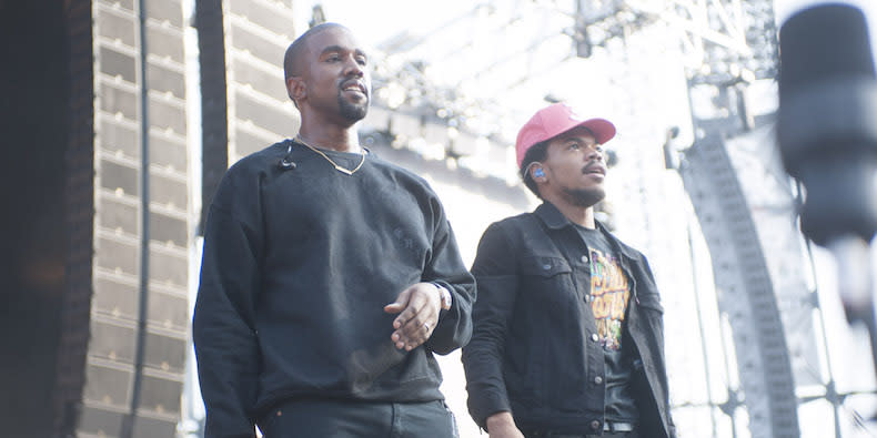 "Listen to Chance the Rapper Pray for Kanye, Cover Drake's ""Feel No Ways"""