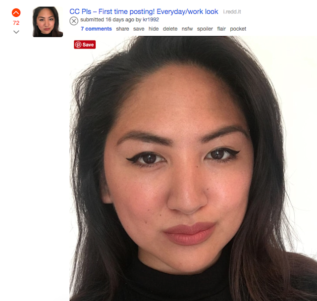 Here's What Happened When I Let Reddit Critique My Makeup