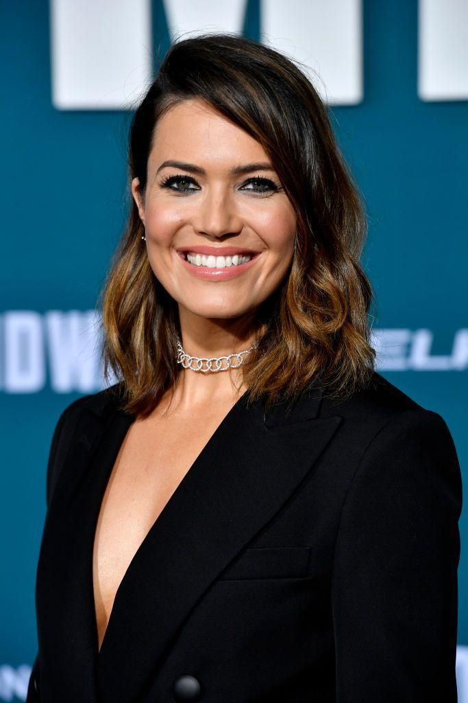 """<p><strong>Real name: </strong>Amanda Leigh Moore</p><p>The This Is Us actress shortened Amanda to Mandy, explaining that Amanda made her think of her parents being angry with her. """"I had never really owned my name,"""" Mandy Moore explained in a 2009 interview with <a href=""""http://www.cnn.com/2009/SHOWBIZ/Music/06/15/mandy.moore/index.html"""" rel=""""nofollow noopener"""" target=""""_blank"""" data-ylk=""""slk:CNN"""" class=""""link rapid-noclick-resp"""">CNN</a>. """"It was just synonymous with my parents being mad at me."""" </p>"""