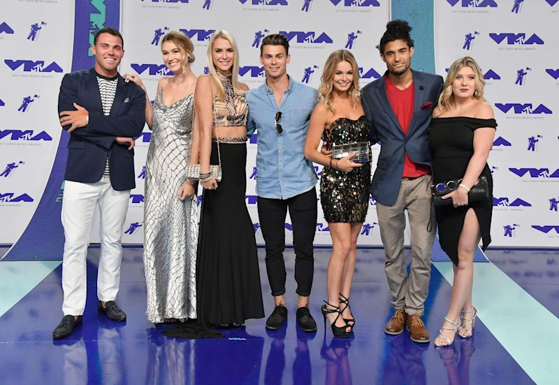 The cast of Siesta Key at the VMA's