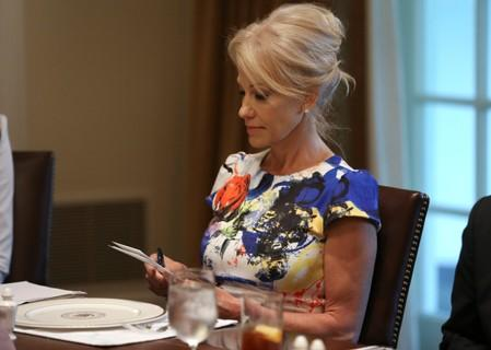 White House dismisses agency call to fire Conway