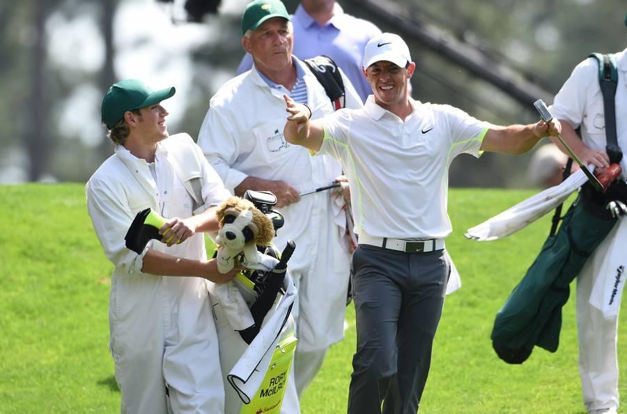US Masters-Augusta-Rory McIlroy