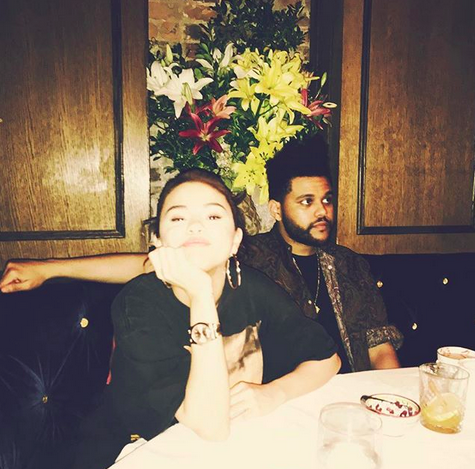 "<p>While the singer didn't feel the need to caption this photo, her face says it all. A New York City dinner date with her sexy singer boyfriend, the Weeknd? Yes, please. (Photo: <a href=""https://www.instagram.com/p/BYpoIf7AlIK/?taken-by=selenagomez"" rel=""nofollow noopener"" target=""_blank"" data-ylk=""slk:Selena Gomez via Instagram"" class=""link rapid-noclick-resp"">Selena Gomez via Instagram</a>) </p>"