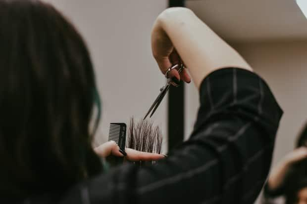 Personal service establishments, such as hair salons, can reopen in Alert Level 4 in accordance with public health guidelines.  (Jessica Davis Photography - image credit)