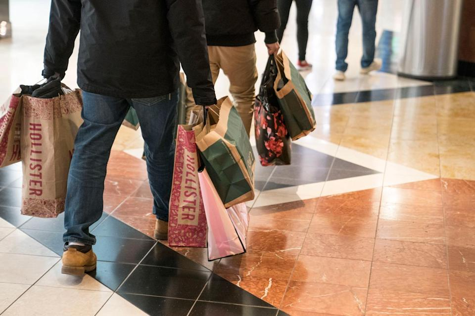 <p>Only just over one in 10 Black Friday products were found to be discounted, a study has found</p> (Sarah Silbiger / Stringer / Getty)