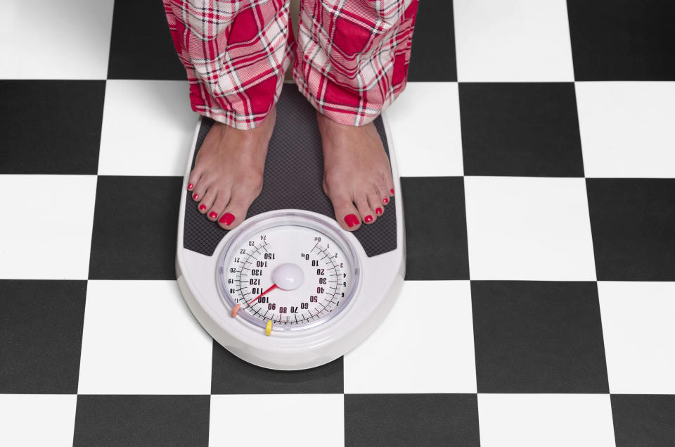Individuals are not making an effort to lose weight. [Photo: Getty]