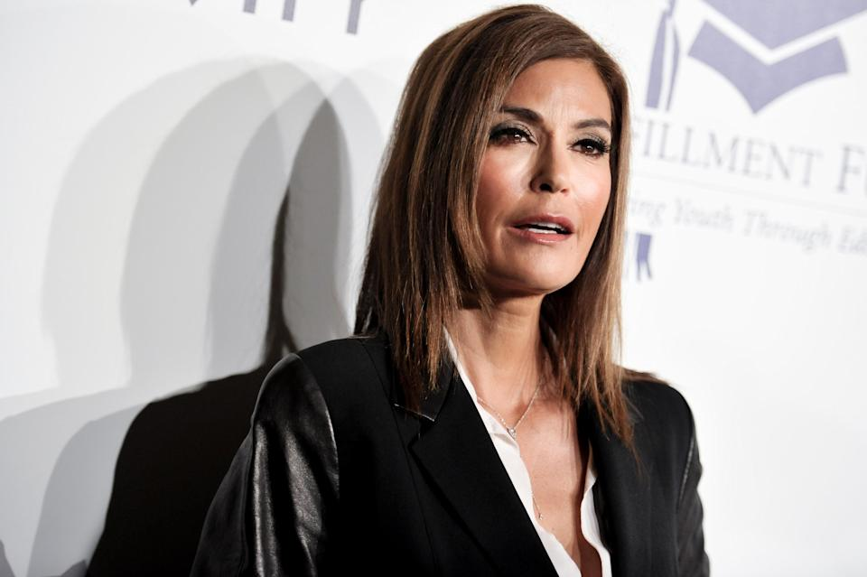 Teri Hatcher, a sexual assault survivor who helped convict her abuser decades later, has sent an open letter to President Trump for mocking Christine Blasey Ford. (Photo: AP)