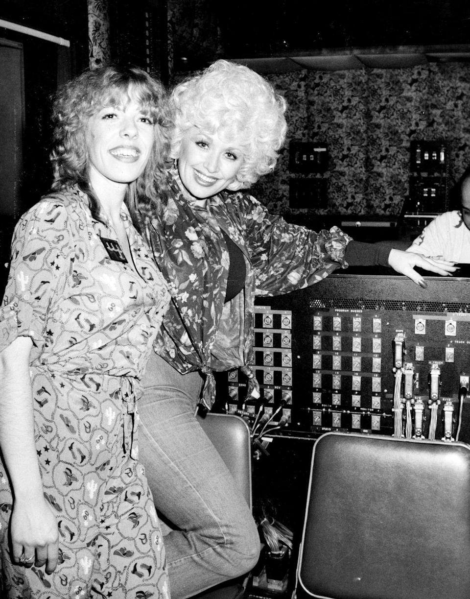 <p>Dolly's very close with all of her siblings, including Frieda, the former punk band performer who's now an ordained minister.</p>