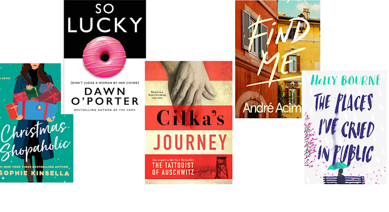 October's top book selection [Photo: Yahoo Style UK]