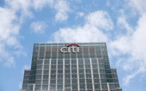 Citigroup HQ in Canary Wharf, London - Credit: REUTERS/Suzanne Plunkett