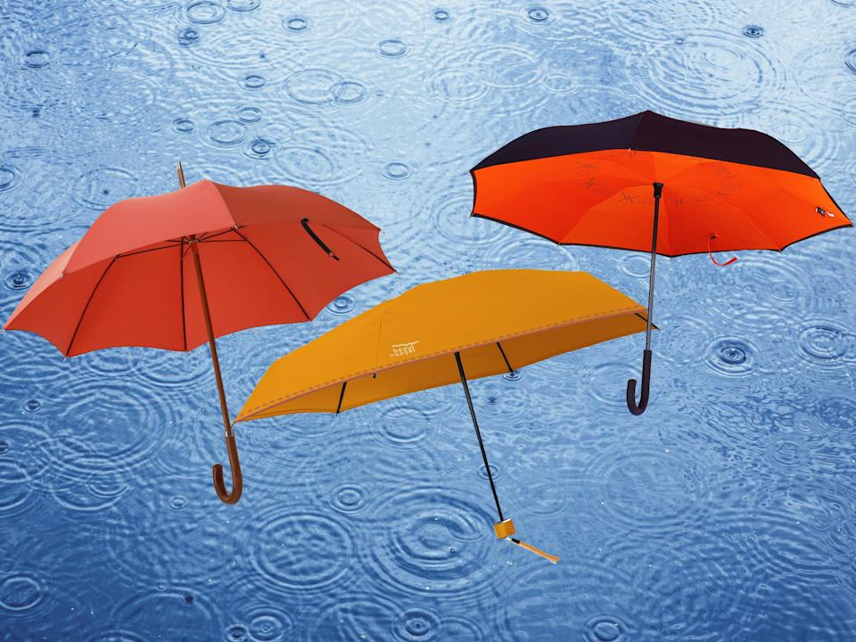 We've all seen broken brollies stashed in a litter bin on a particularly rainy day, but there's no need to join those ranks of disappointed umbrella owners: The Independent/iStock