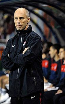 Bob Bradley was the head coach of the U.S. men's national soccer team for five years