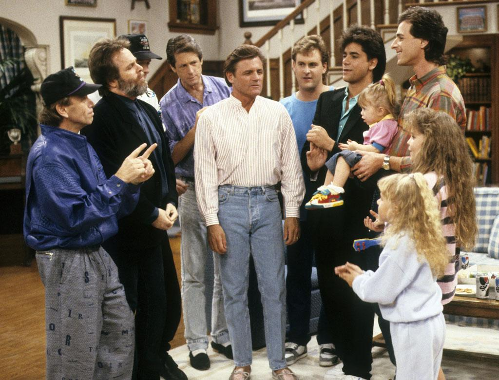 "In the ""Full House"" episode ""Beach Boy Bingo,"" the legendary surf band made a special guest appearance and played their hit ""Kokomo."" An on-again/off-again member of the Beach Boys' band, Stamos had appeared in the music <a href=""http://www.songfacts.com/detail.php?id=505"">video</a> for the song from the movie ""Cocktail"" but didn't play drums on the actual track."