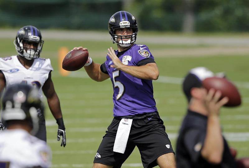 Ravens, 49ers take off the pads for final practice