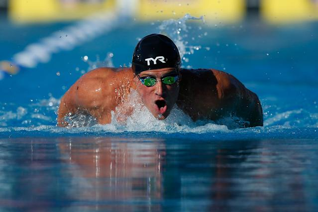 "Since the 2016 Rio Olympics, <a class=""link rapid-noclick-resp"" href=""/olympics/rio-2016/a/1119887/"" data-ylk=""slk:Ryan Lochte"">Ryan Lochte</a> has become a dad, gone to rehab, and changed his life. (Photo by Lachlan Cunningham/Getty Images)"