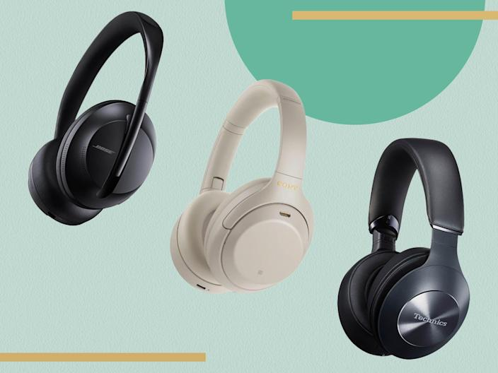 Wireless headphones are less intrusive – and usually have better battery life – than in-ear versions (iStock/The Independent)