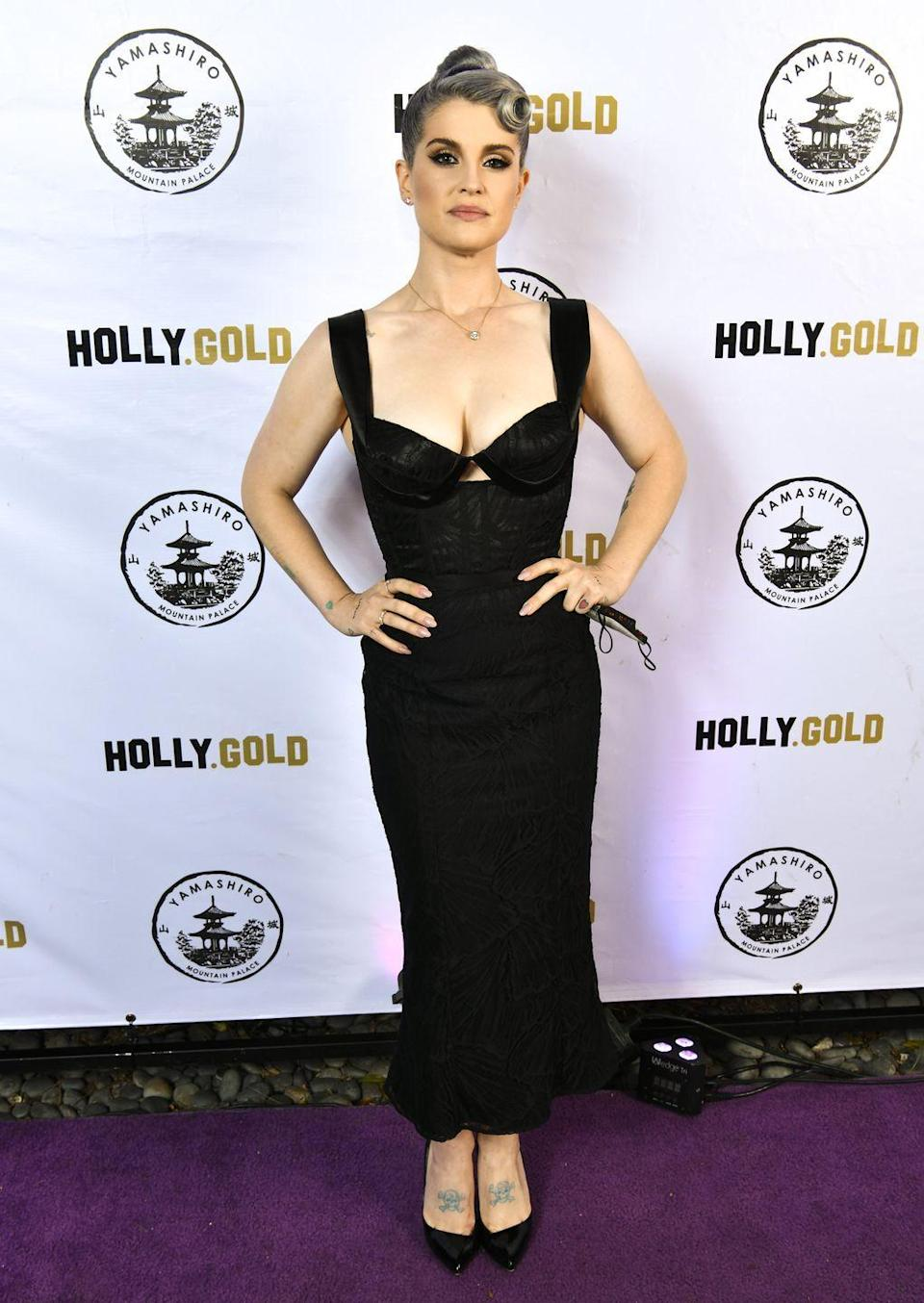 """<p>Lots of celebs who go on <em>Dancing with the Stars</em> lose pounds in the process—likely because of the intense practice schedule—and Kelly Osbourne is one of them. However, in 2020, the star told <em><a href=""""https://people.com/health/kelly-osbourne-gastric-sleeve-surgery-lost-85-lbs/"""" rel=""""nofollow noopener"""" target=""""_blank"""" data-ylk=""""slk:People"""" class=""""link rapid-noclick-resp"""">People</a></em> she opted to have gastric bypass surgery in 2018, resulting in an <a href=""""https://www.prevention.com/weight-loss/a33562689/kelly-osbourne-weight-loss/"""" rel=""""nofollow noopener"""" target=""""_blank"""" data-ylk=""""slk:85 pound drop"""" class=""""link rapid-noclick-resp"""">85 pound drop</a>. """"It is the best thing I have ever done,"""" she said. """"The kind of surgery I had… if you don't work out and you don't eat right, you gain weight. All it does is move you in the right direction."""" That's why she continues to exercise, eat a nutritious diet, and cut out alcohol.<br></p>"""