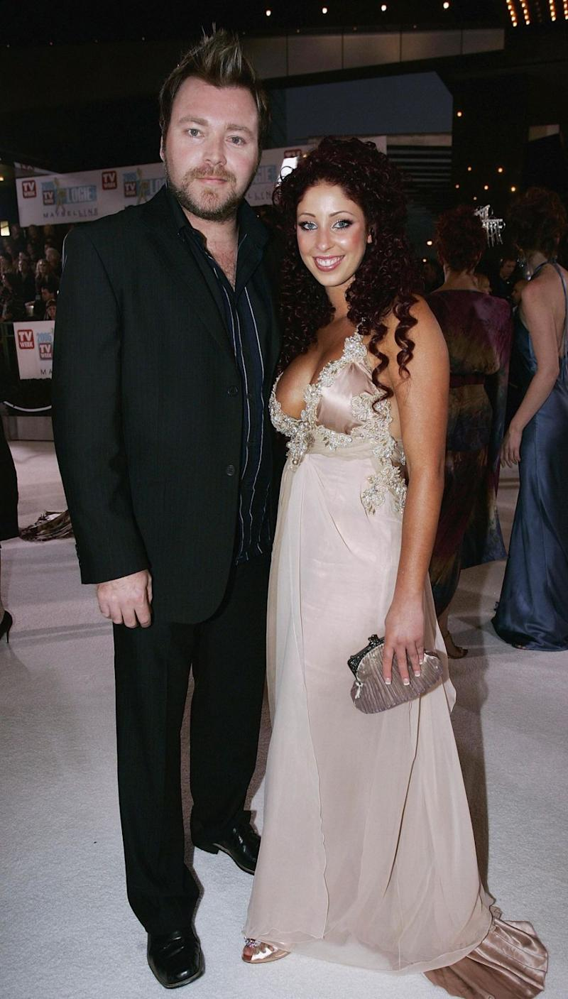 Kyle Sandilands has spoken about his wedding to his ex-wife Tamara Jaber. The pair are pictured here together in 2005 at the Logie Awards. Source: Getty