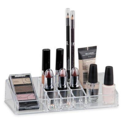 "<h3><strong>Home Basics </strong>Medium Makeup Organizer in Clear</h3><br><strong>The Essential Makeup Organizer</strong><br><br>This ultra-affordable pick is perfect for keeping all your daily makeup items in one place.<br><br><strong>The Hype: </strong>4.7 out of 5 stars and 9 reviews on <a href=""https://www.bedbathandbeyond.com/store/product/home-basics-reg-medium-makeup-organizer-in-clear/1044622930"" rel=""nofollow noopener"" target=""_blank"" data-ylk=""slk:Bed, Bath, & Beyond"" class=""link rapid-noclick-resp"">Bed, Bath, & Beyond</a><br><br><strong>Organization Obsessives Say: </strong>""Great for holding your makeup or other small supplies needed. I like how deep the compartments are to hold items."" — Lilybelle, Bed, Bath, & Beyond Reviewer<br><br><strong>Home Basics</strong> Medium Makeup Organizer in Clear, $, available at <a href=""https://go.skimresources.com/?id=30283X879131&url=https%3A%2F%2Fwww.bedbathandbeyond.com%2Fstore%2Fproduct%2Fhome-basics-reg-medium-makeup-organizer-in-clear%2F1044622930"" rel=""nofollow noopener"" target=""_blank"" data-ylk=""slk:Bed Bath and Beyond"" class=""link rapid-noclick-resp"">Bed Bath and Beyond</a>"