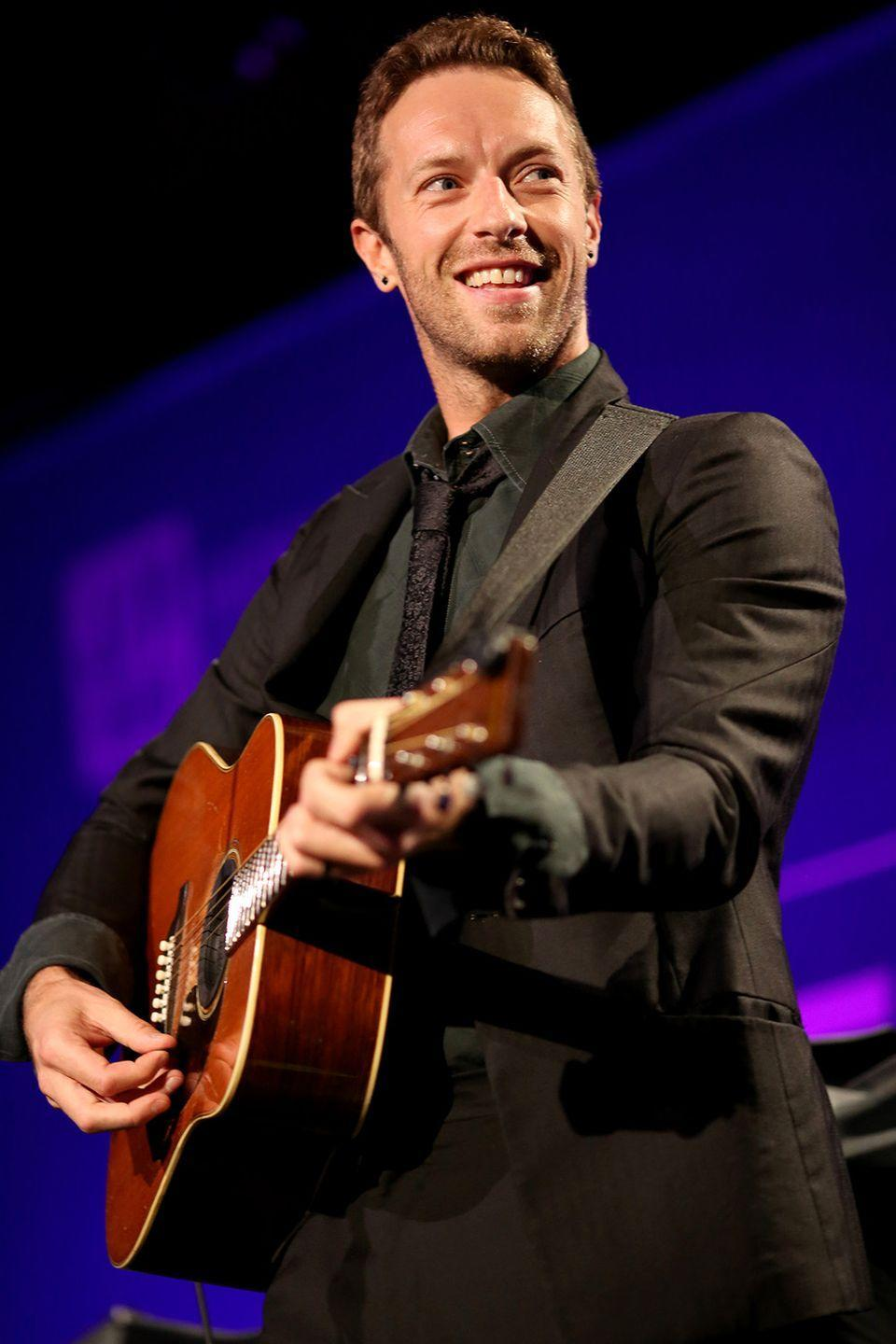 """<p>The lead singer of Coldplay admits the band indulged in a party phase early on in their career, but now Martin himself completely embraces the teetotal life. </p><p>H/T: <a href=""""https://www.theguardian.com/music/2005/may/28/popandrock.coldplay"""" rel=""""nofollow noopener"""" target=""""_blank"""" data-ylk=""""slk:The Guardian"""" class=""""link rapid-noclick-resp"""">The Guardian</a></p>"""