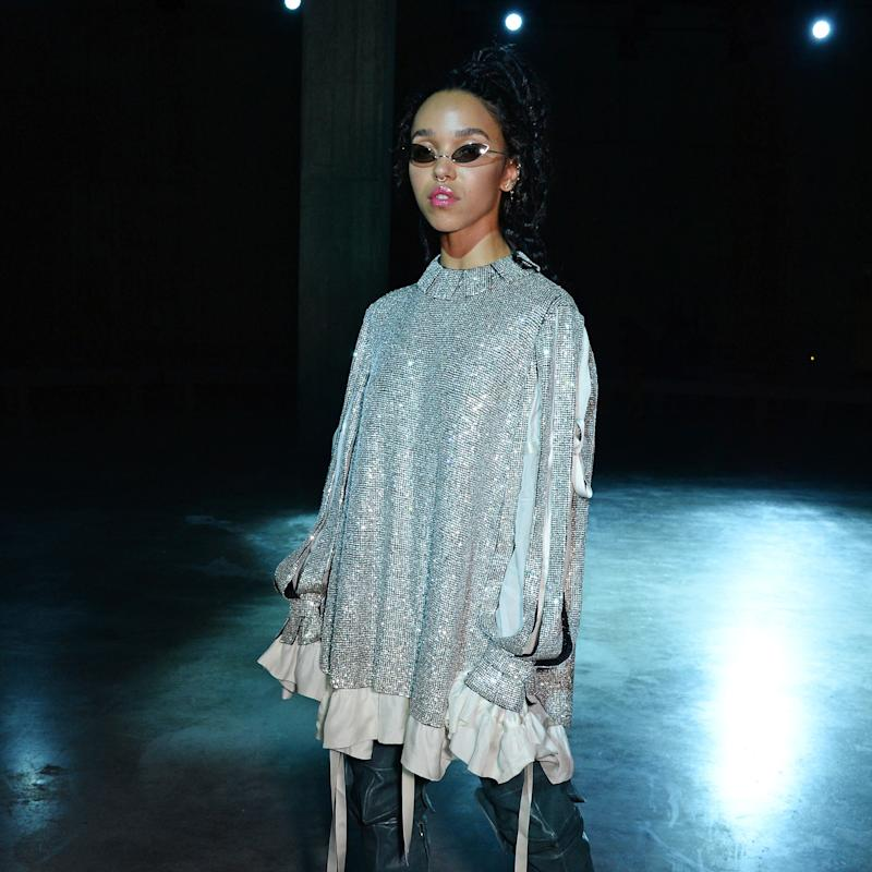 FKA twigs Just Made Christopher Kane's Front Row Sparkle at London Fashion Week