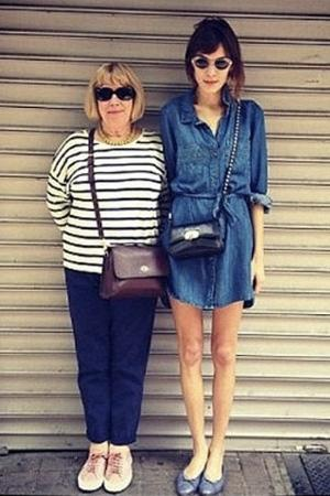 """Celebrity photos: Alexa Chung was forced to defend herself amidst fresh claims that she's anorexic. She made her Instagram account private after a picture she posted received several comments about her slim frame and accusations she was adding to the 'thinspiration' culture. Alexa posted a picture of herself with her mum, with her legs looking alarmingly skinny. After hundreds of comments, Alexa said: """"""""People are different sizes. I'm not trying to be thinspo for anyone."""""""