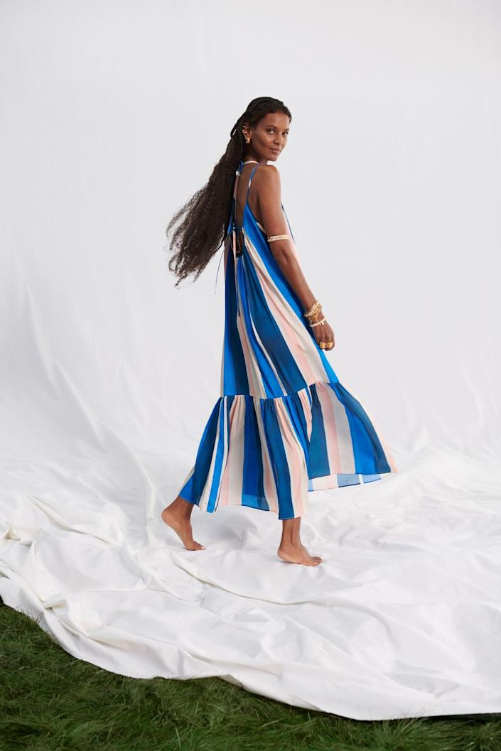 <p>Style this <span>Lacing-detail Maxi Dress</span> ($50) with refined mules or comfy slide sandals for an elevated look.</p>
