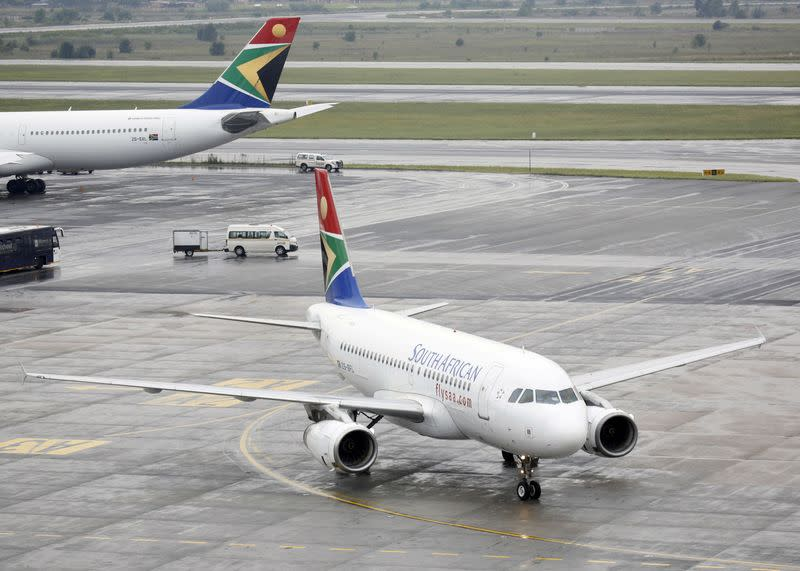 South African court halts layoffs at ailing airline SAA