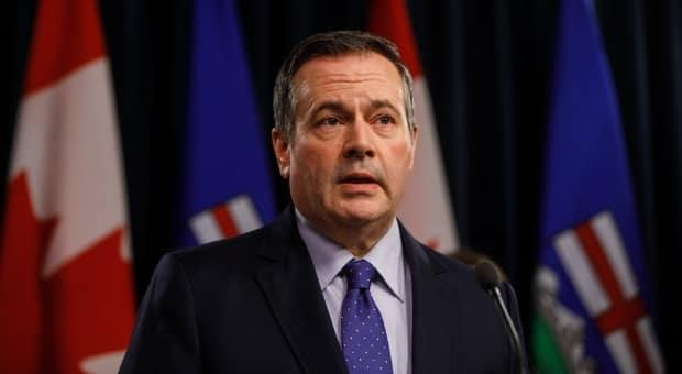 Premier Jason Kenney said in a Facebook live event on Wednesday that he wants Albertans to have the freedom to choose their vaccine. (Jason Franson/Canadian Press - image credit)