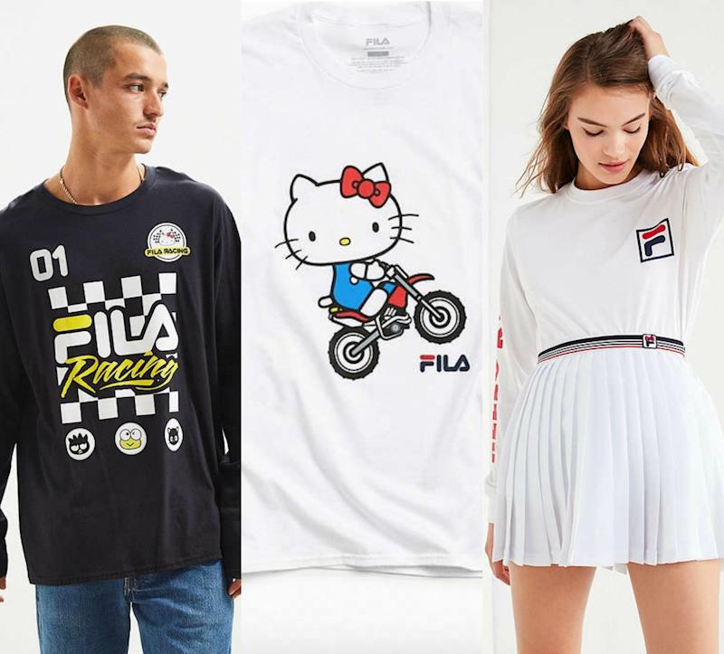 daa9af775a2 The FILA x Sanrio clothing collab will speak to your inner Sporty Spice