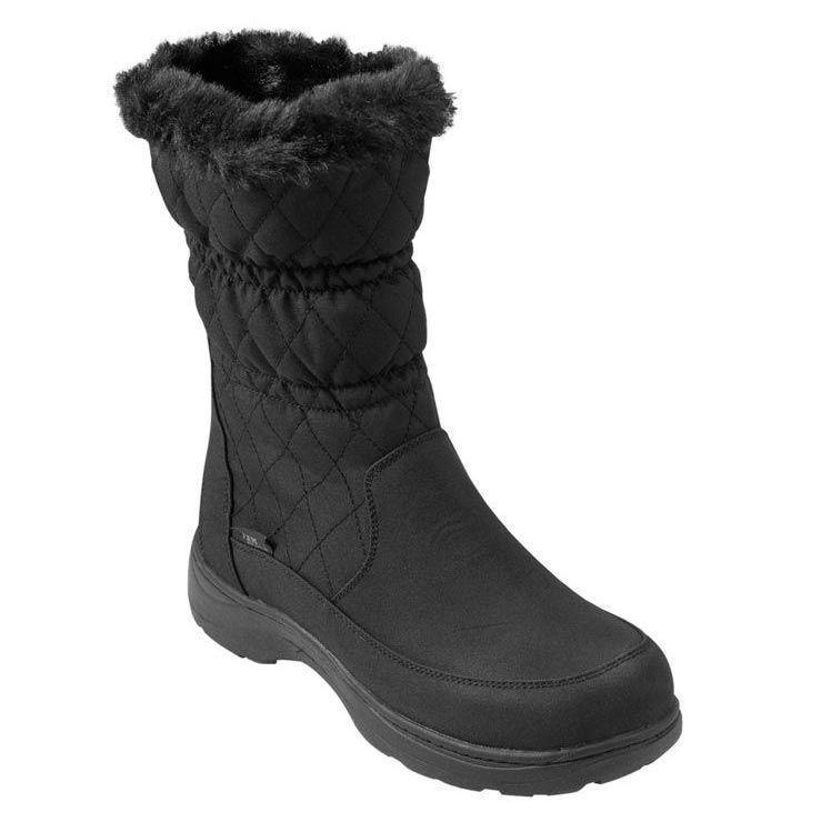 """<p><strong>L.L.Bean</strong></p><p>llbean.com</p><p><strong>$119.00</strong></p><p><a href=""""https://go.redirectingat.com?id=74968X1596630&url=https%3A%2F%2Fwww.llbean.com%2Fllb%2Fshop%2F88391&sref=https%3A%2F%2Fwww.goodhousekeeping.com%2Fclothing%2Fg29091176%2Fbest-rain-boots%2F"""" rel=""""nofollow noopener"""" target=""""_blank"""" data-ylk=""""slk:Shop Now"""" class=""""link rapid-noclick-resp"""">Shop Now</a></p><p>Unlike most rain boots, <strong>these are insulated and have a fleece lining to keep your feet warm. </strong>The outer fabric is nylon with a waterproof finish and they're filled with PrimaLoft, which is a synthetic down material that's often used in outdoor gear. The soles have cushioning for comfort and rubber treads for traction. On top of that, these boots come in wide sizes, making them a great fit for those with wider feet.</p>"""