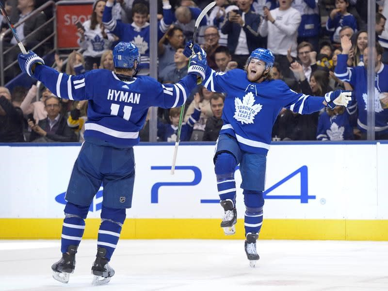 Leafs respond after back-to-back poor showings with 4-0 victory over Penguins