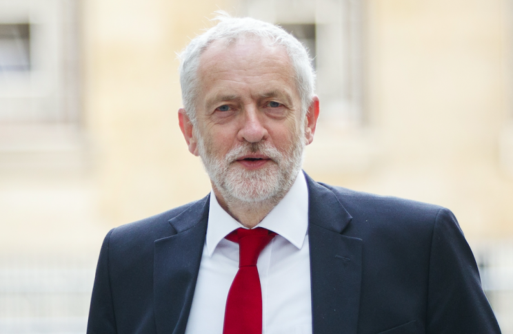 Jeremy Corbyn will be hoping that MPs vote down this year's speech so that a new election can be triggered (Rex)
