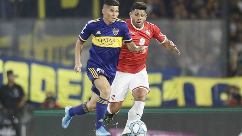 Jorman Campuzano Silvio Romero Boca Independiente Superliga 26012019