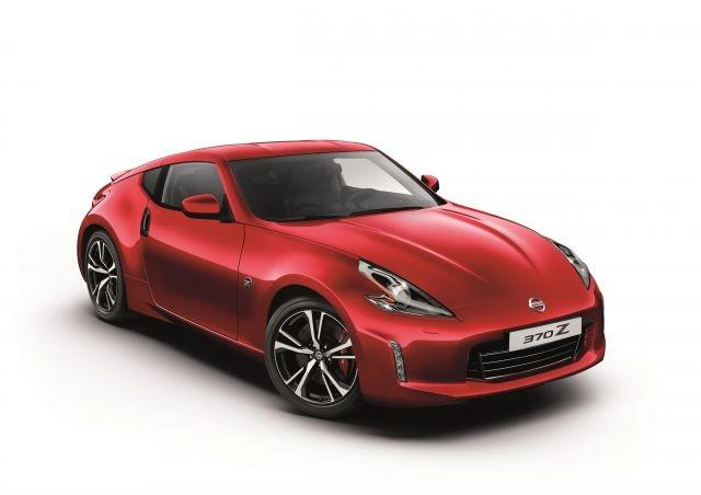 Nissan 370Z coupe updated for 2018