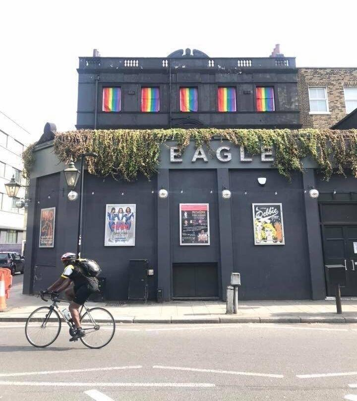 The Eagle in Vauxhall (Photo: Mark Oakley)