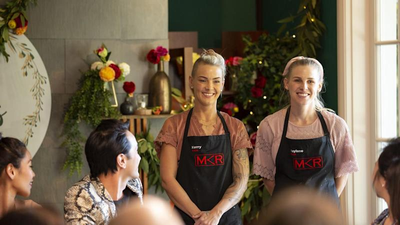 MKR sisters win cooking challenge