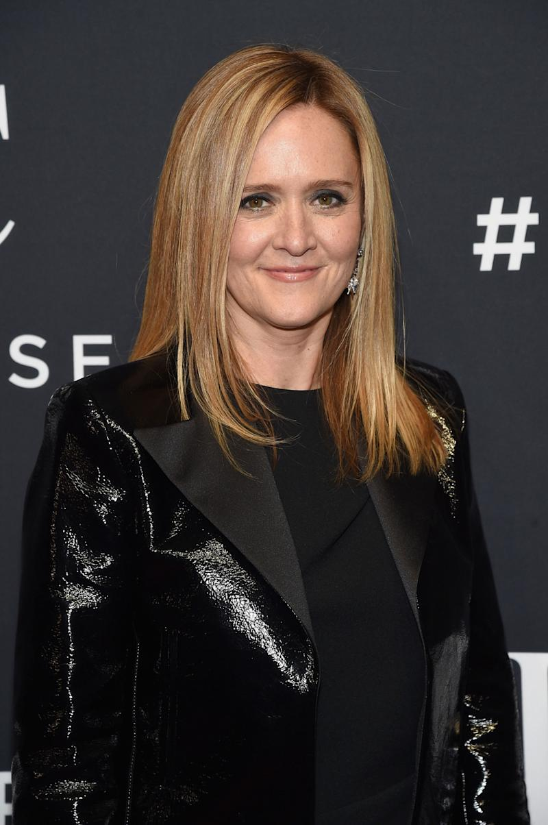 Samantha Bee Hasn't Checked Her Twitter Mentions Since the 'Geyser of Hatred' She Received on Election Night