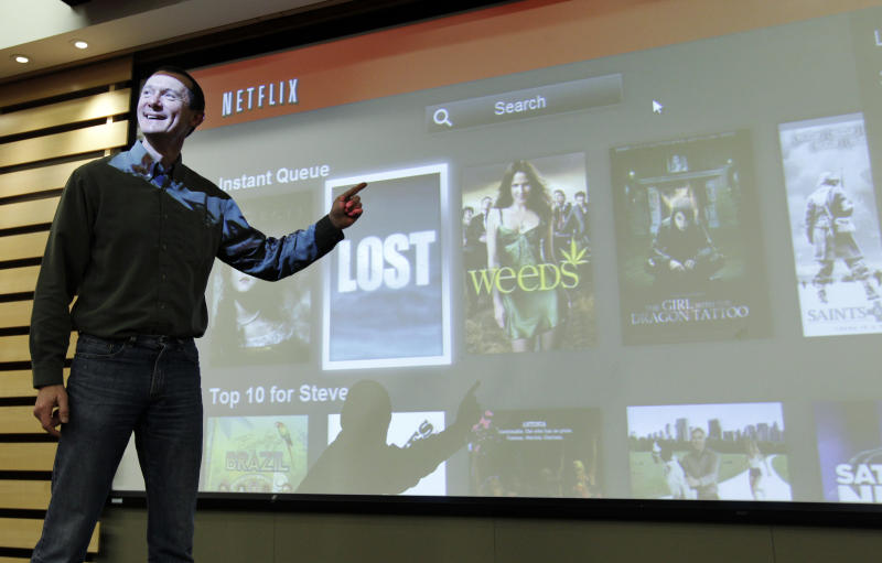 Netflix spruces up service for television screens