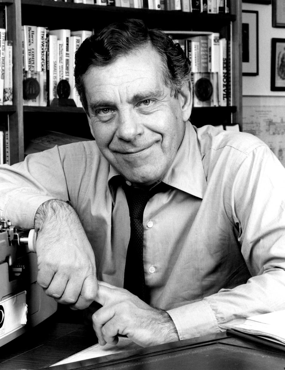 <p>CBS newsman Morley Safer of '60 Minutes' died on May 19, 2016 at 85 from pneumonia. Photo from Getty Images </p>