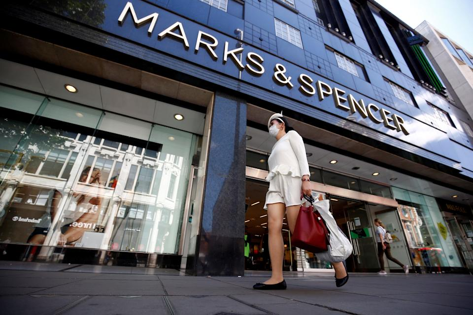 <p>M&S said sales picked up in the second half of 2020 and have had a further boost since stores re-opened on 12 April</p> (Reuters)
