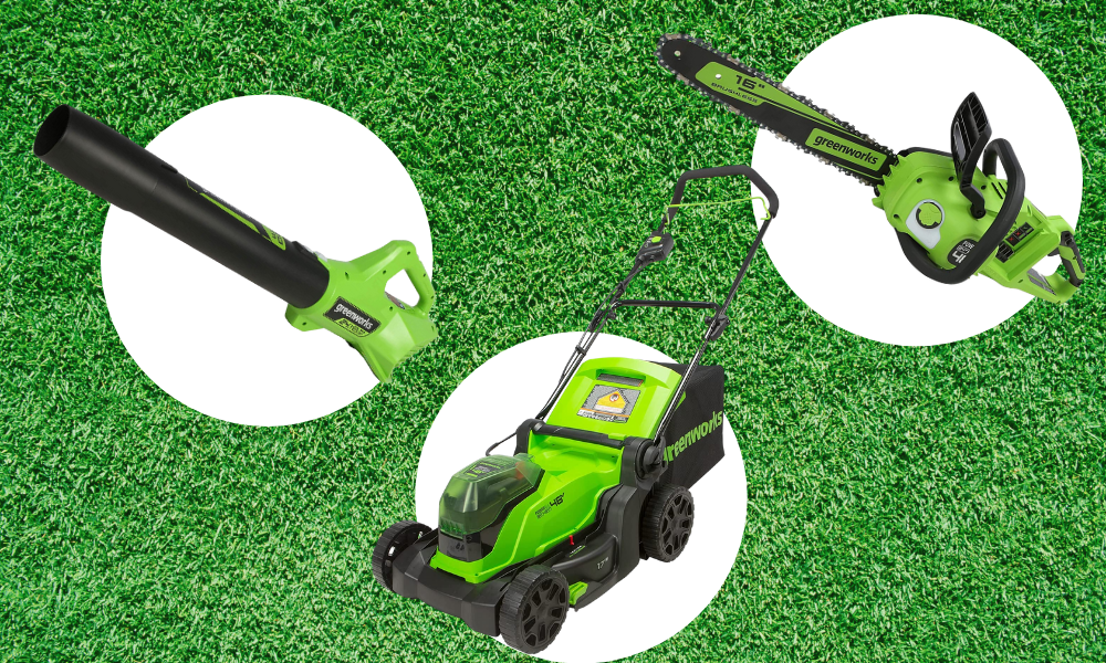 Cordless lawn tools are nearly 40 percent off today. (Photo: Amazon)