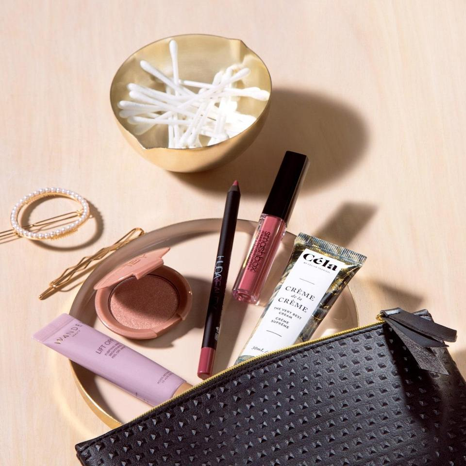 """Before getting your first order, you take a questionnaire on everything from your eye, hair, and skin color to your favorite brands and personal style. From there, you'll receive a customized box of five standout products (or more if you upgrade to the Plus or Ultimate tier). Don't want to commit just yet? Ipsy also sells one-off <a href=""""https://www.ipsy.com/shop/products/p-pLMV8UwysfAJlVM_kiya"""" rel=""""nofollow noopener"""" target=""""_blank"""" data-ylk=""""slk:mystery Glam Bags"""" class=""""link rapid-noclick-resp"""">mystery Glam Bags</a> that come with five surprise items. $12, Ipsy. <a href=""""https://www.ipsy.com/glambag#/2020/01/GLAMBAG"""" rel=""""nofollow noopener"""" target=""""_blank"""" data-ylk=""""slk:Get it now!"""" class=""""link rapid-noclick-resp"""">Get it now!</a>"""