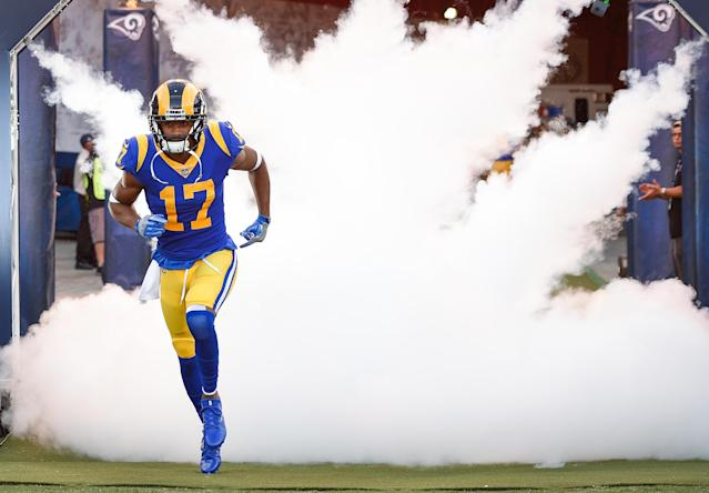 Rams receiver Robert Woods' home was robbed on Thursday night during their game against the Minnesota Vikings. (Getty Images)