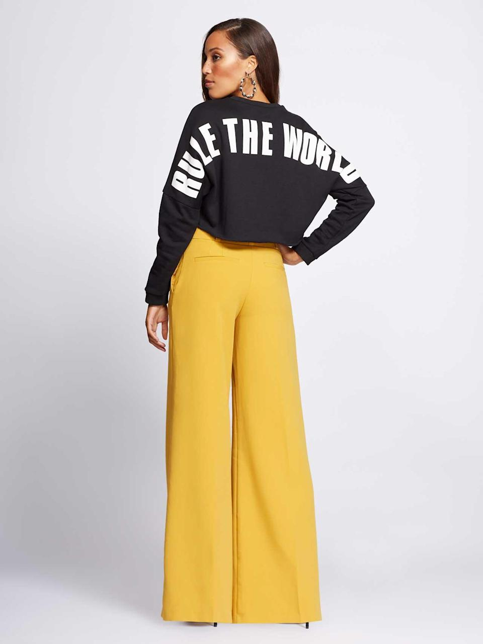 """Rule the World"" power look. (Photo: Courtesy of New York & Company)"