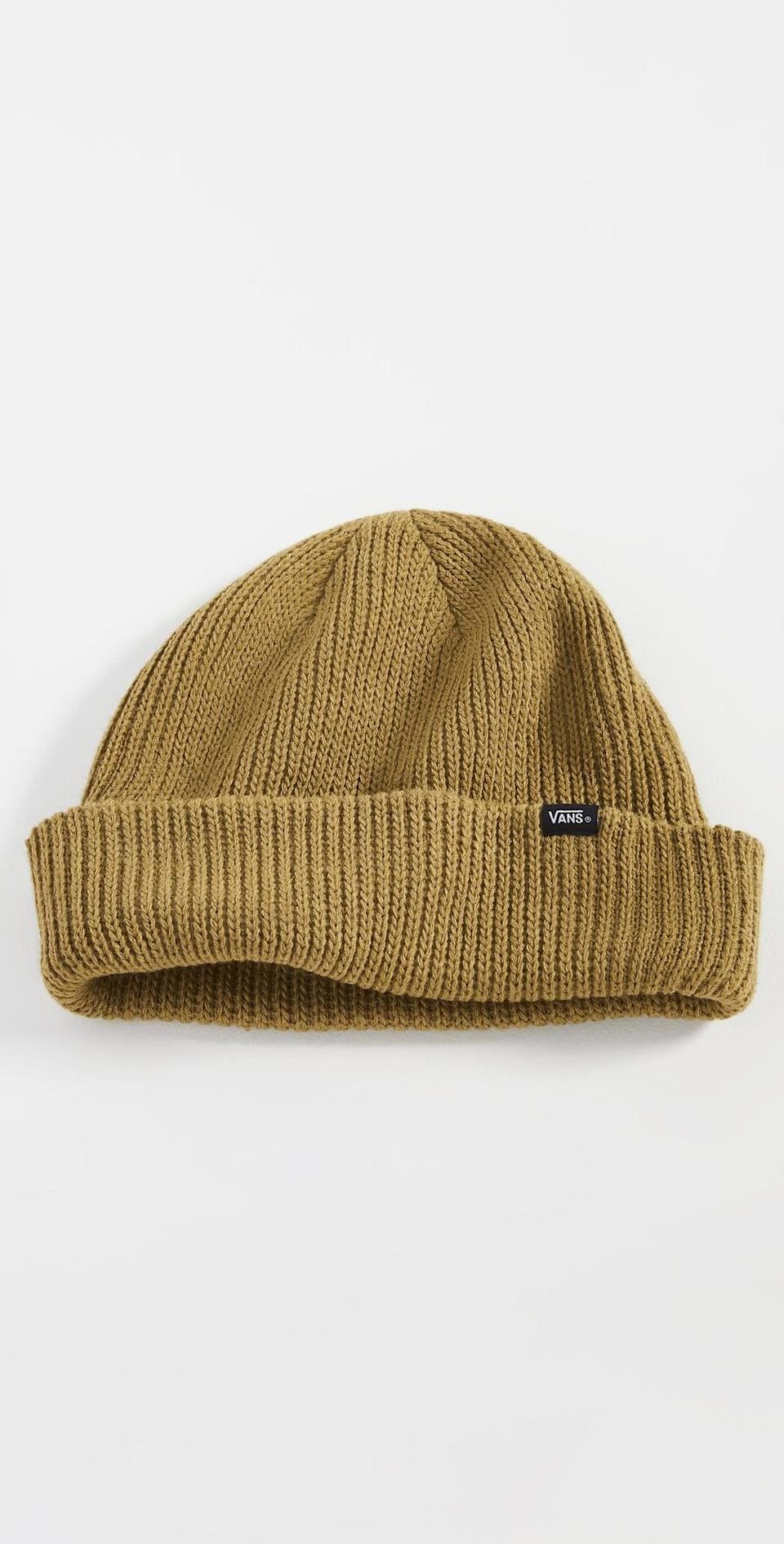<p>You'll be grateful for this <span>Vans Core Basics Beanie</span> ($16) once the temperature starts to dip. It's a must in any cold-weather wardrobe, and it'll make a colorful addition to your collection.</p>