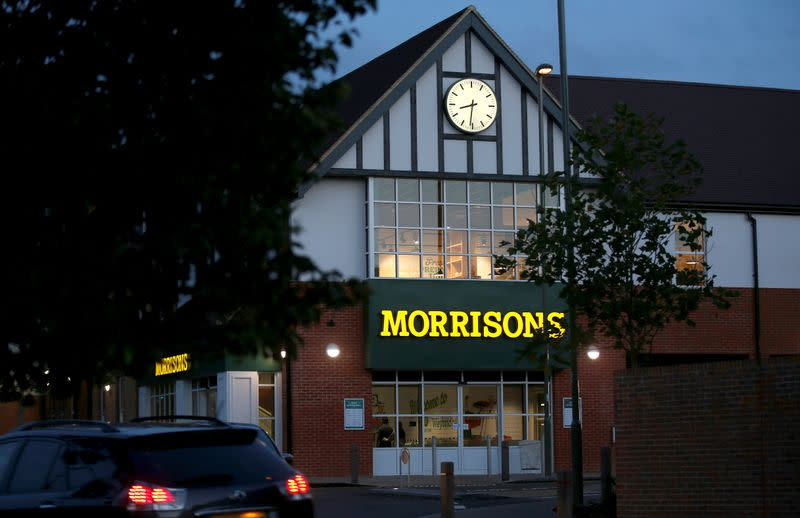 FILE PHOTO: A Morrisons supermarket is seen in Weybridge