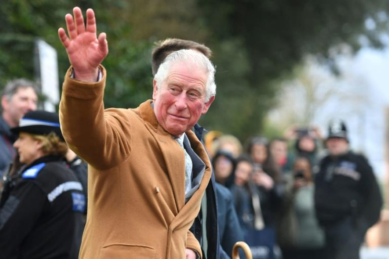 Britain's Prince Charles is in the most-risk category for the new coronavirus